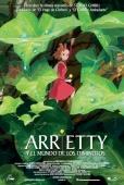 Cartel de Arrietty y el mundo de los diminutos (Karigurashi no Arrietty)