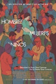 Cartel de Hombres, mujeres & ni�os (Men, Women & Children)