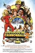 Cartel de Los locos del Cannonball 2 (Cannonball Run 2)