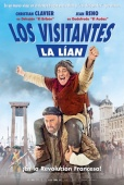 Cartel de Los visitantes la l�an (en la Revoluci�n Francesa) (Les Visiteurs: La R�volution)