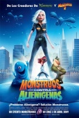 Cartel de Monstruos contra alien�genas (Monsters Vs. Aliens)