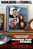 Cartel de Padres por desigual (Daddy's Home)