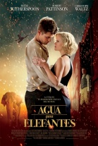 P�ster de Agua para elefantes (Water for Elephants)