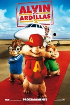 P�ster de Alvin y Las Ardillas 2 (Alvin and the Chipmunks: The Squeakquel)