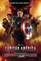 Pster de Capitn Amrica. El primer vengador (The First Avenger: Captain America)
