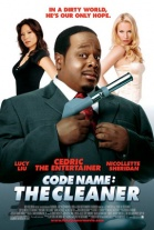 P�ster de Con licencia para limpiar (Code name: The cleaner)