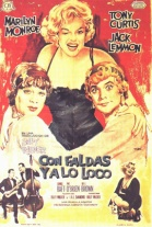 P�ster de Con Faldas y a lo Loco (Some Like it Hot)