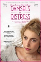 P�ster de Damiselas en apuros (Damsels in Distress)