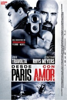 P�ster de Desde Par�s con Amor (From Paris with Love)