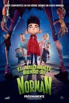 P�ster de El alucinante mundo de Norman (ParaNorman)