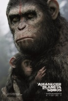 P�ster de El amanecer del planeta de los simios (Dawn of the Planet of the Apes)