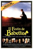 P�ster de El fest�n de Babette (Babettes g�stebud (Babette's Feast))