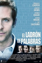 P�ster de El ladr�n de palabras (The Words)