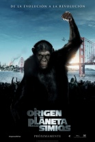 P�ster de El origen del Planeta de los Simios (Rise of the Planet of the Apes)