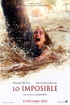 Poster Lo Imposible  (The Impossible) (2012) PELICULA