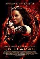 P�ster de Los juegos del hambre: En llamas (The Hunger Games: Catching Fire)