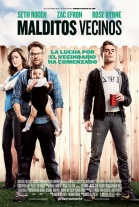P�ster de Malditos vecinos (Neighbors)