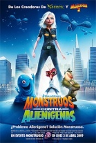P�ster de Monstruos contra Alien�genas (Monsters Vs. Aliens)