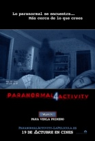 P�ster de  (Paranormal Activity 4)