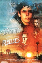 P�ster de Rebeldes (The Outsiders)