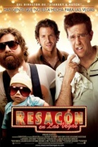 P�ster de Resac�n en Las Vegas (The Hangover)
