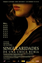 P�ster de Singularidades de una chica rubia (Eccentricities of a Blonde-haired Girl)