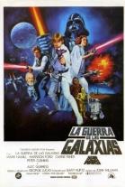 P�ster de La guerra de las galaxias. Episodio IV: Una nueva esperanza (Star Wars: Episode IV, A New Hope)