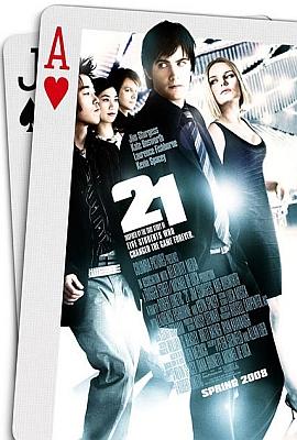 Cartel de 21 (Black Jack) (21)