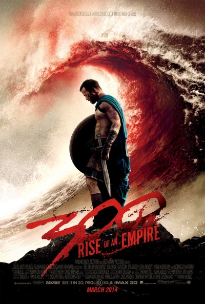 Póster de 300: El origen de un imperio (300: Rise of an Empire)