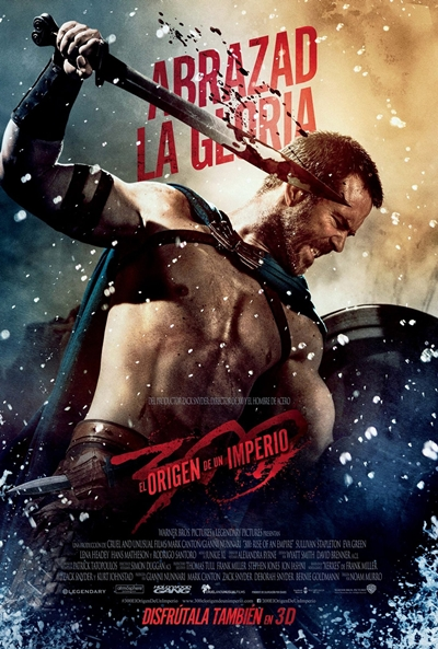 Cartel de 300: El origen de un imperio (300: Rise of an Empire)