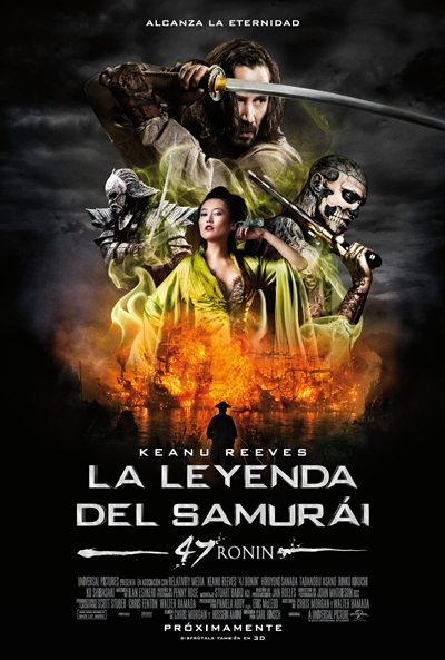 Cartel de La leyenda del samurái (47 Ronin) (47 Ronin)