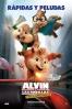 Cartel de Alvin y las ardillas: Fiesta sobre ruedas