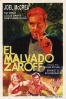 P�ster de El malvado Zaroff (The Most Dangerous Game)