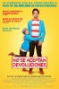 Cartel de No se aceptan devoluciones (Instructions not included)