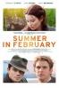 Cartel de Verano en febrero