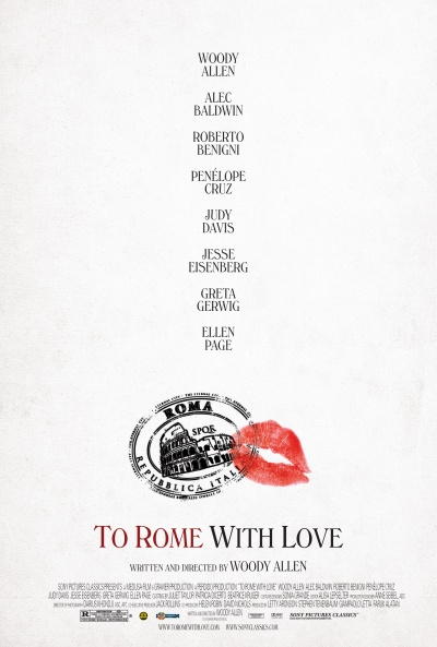 Póster de A Roma con amor (To Rome with Love)