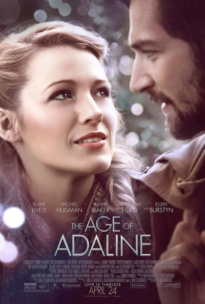 Cartel de El secreto de Adaline (The Age of Adaline)