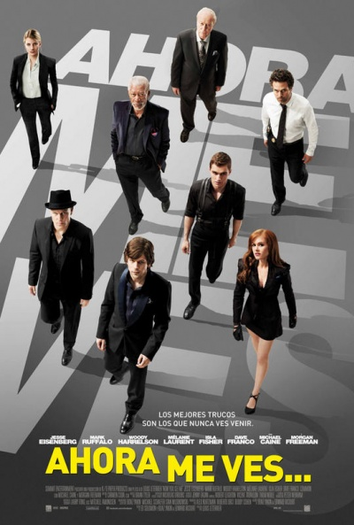 Cartel de Ahora me ves... (Now You See Me)