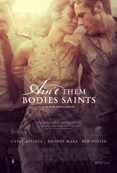Cartel de En un lugar sin ley (Ain't Them Bodies Saints)