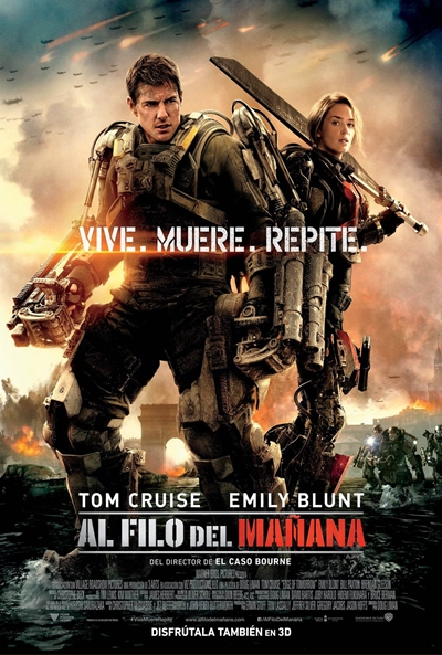 Cartel de Al filo del mañana (Edge of Tomorrow )