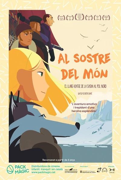 Cartel de El gran viaje de Sasha al Polo Norte (Tout en haut du monde)