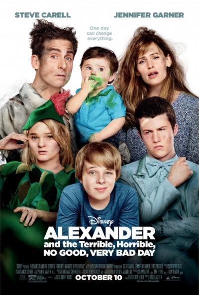 P�ster de Alexander y el d�a terrible, horrible, espantoso, horroroso (Alexander and the Terrible, Horrible, no Good, Very Bad Day)