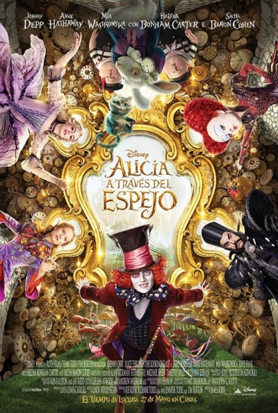 Cartel de Alicia a través del espejo (Alice Through the Looking Glass)