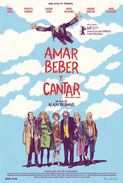 Cartel de Amar, beber y cantar (Aimer, boire et chanter)