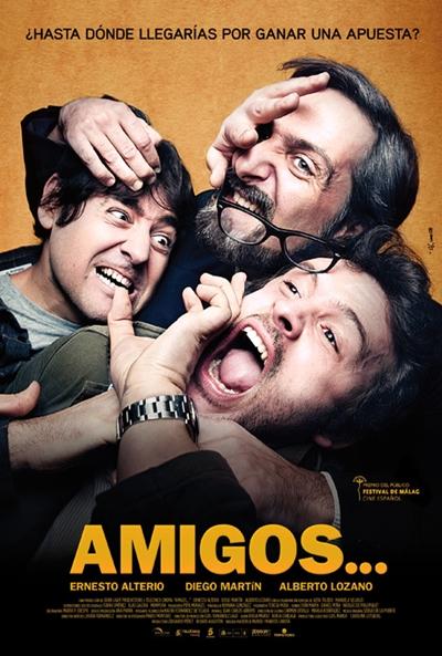 Cartel de  (Amigos...)