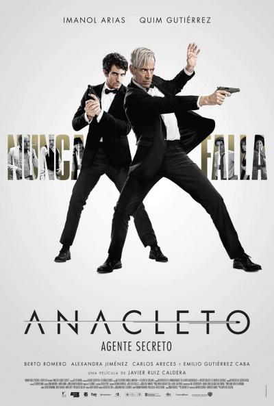 Cartel de Anacleto: Agente secreto (Anacleto: Agente secreto)