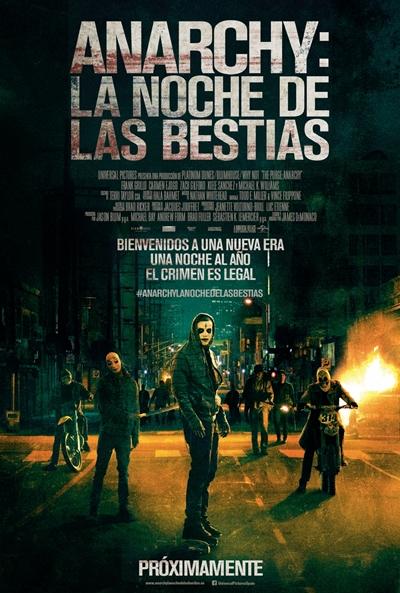 Anarchy: La noche de las bestias   [Espanol] (Descargar Gratis)