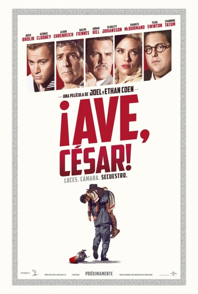 Cartel de ¡Ave, César! (Hail, Caesar!)