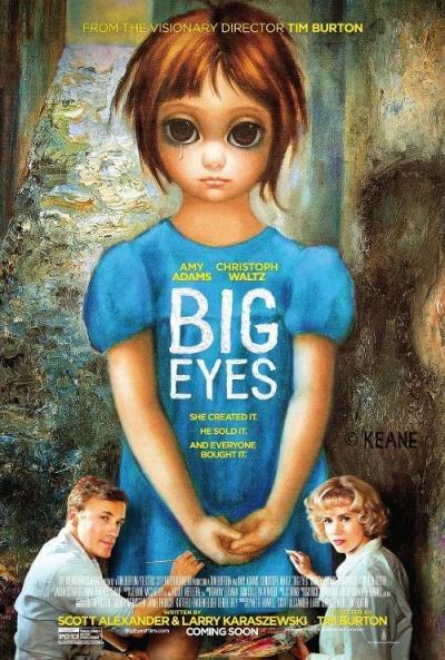 Cartel de Big Eyes (Big Eyes)