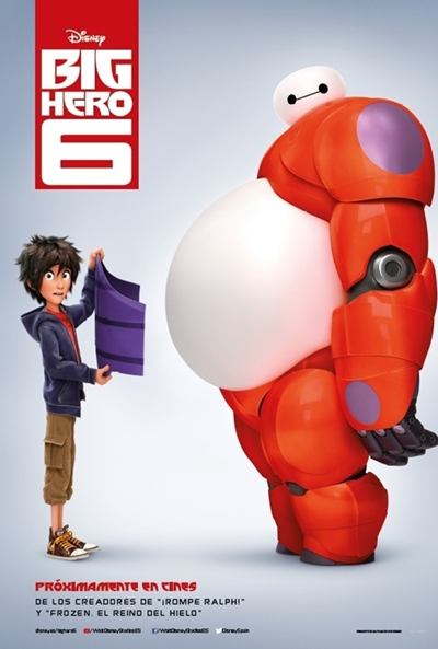 Cartel de Big Hero 6 (Big Hero 6)